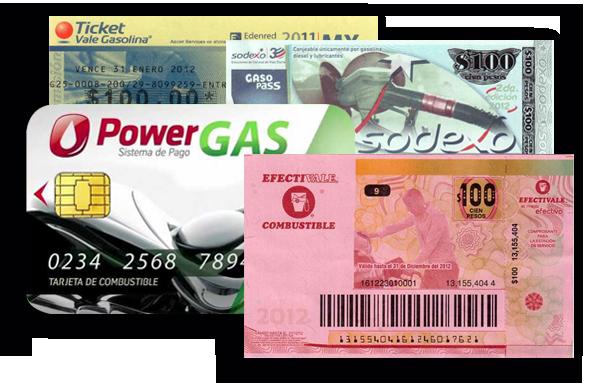 Formas de pago en gasolinera